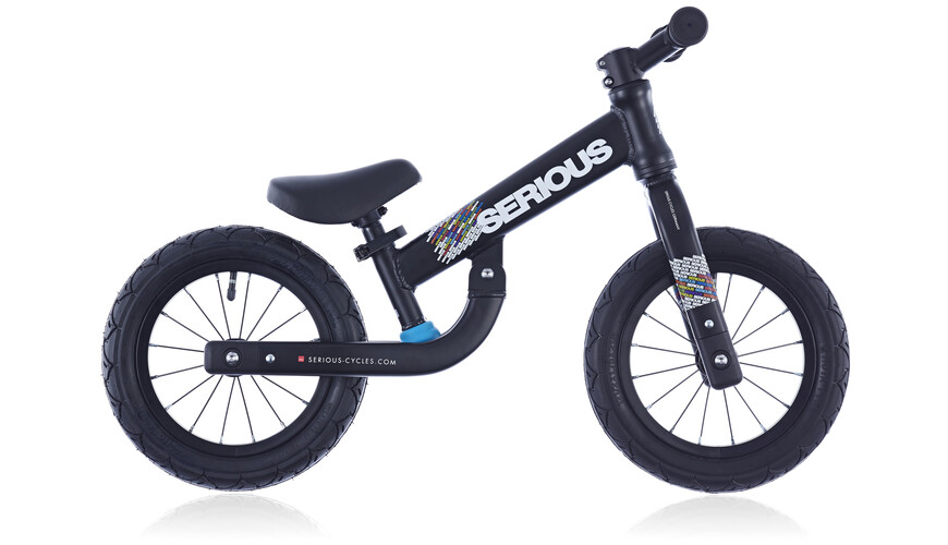 Serious Kid Pushbike black